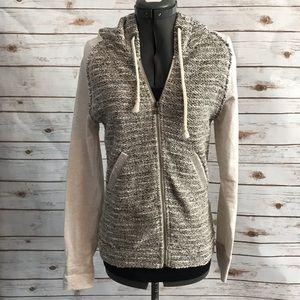 Miss Me lurex embellished hoodie sweatsuit medium
